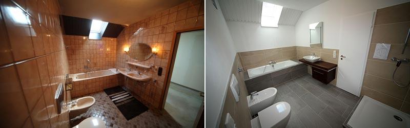 Badsanierung Ingolstadt   Vorher Und Nachher