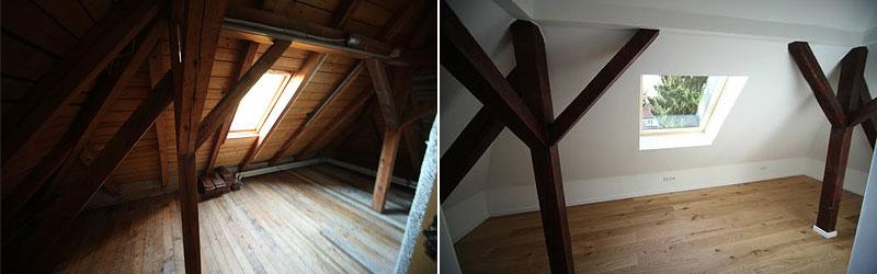 Dachgeschoss in Ingolstadt ausbauen lassen