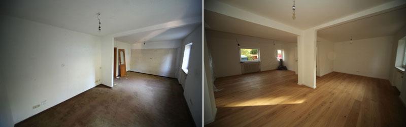 Komplettsanierung im Haus - Ingolstadt